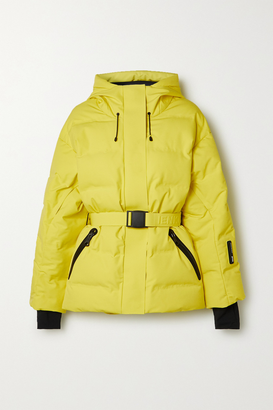 IENKI IENKI Sheena hooded belted quilted down ski jacket