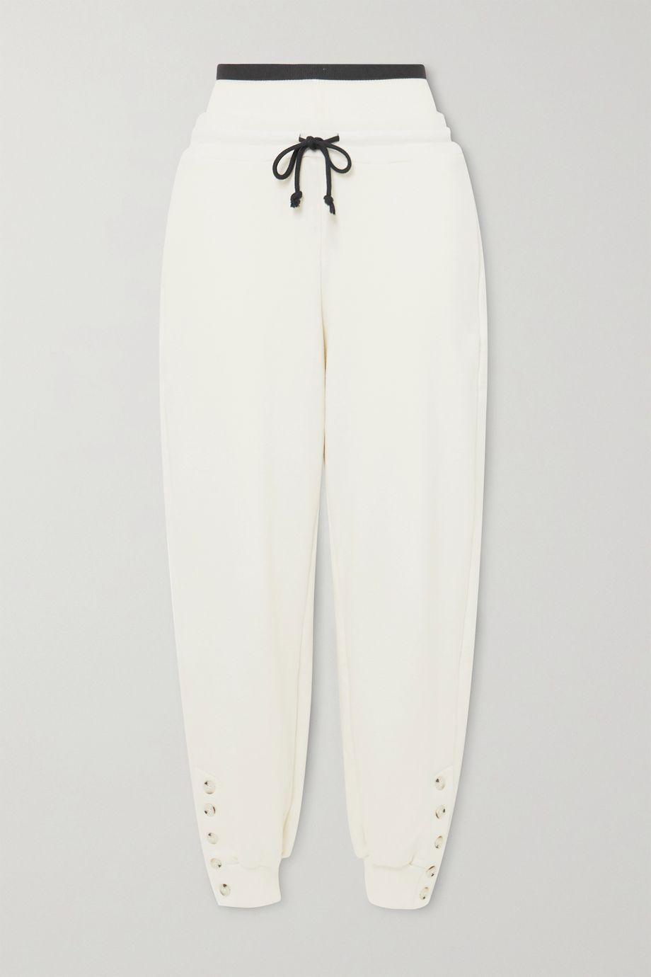 The Range Contra cotton-blend terry track pants