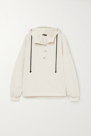 The Range Contra cotton-blend terry hoodie