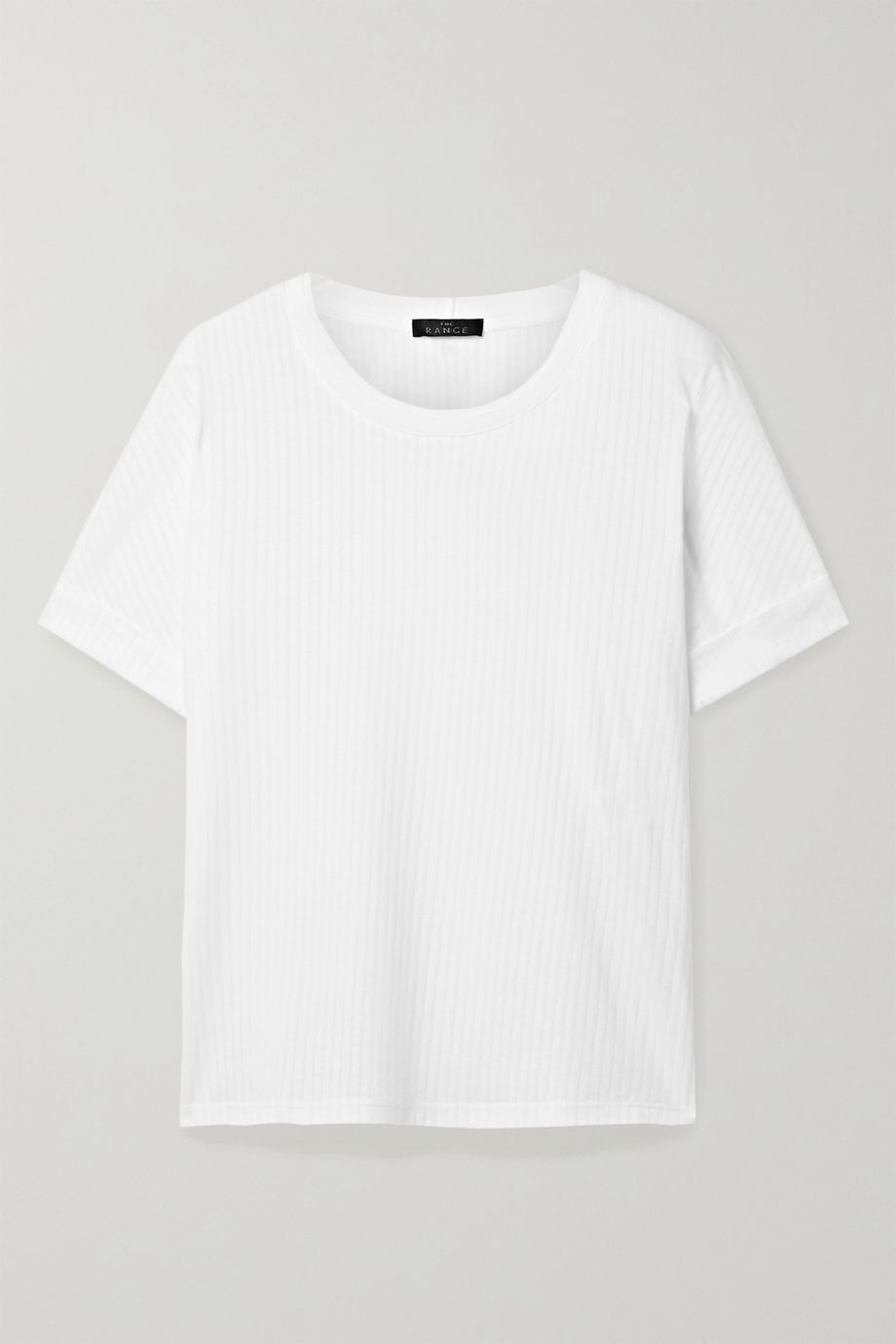 The Range Ribbed Tencel and cotton-blend jersey T-shirt