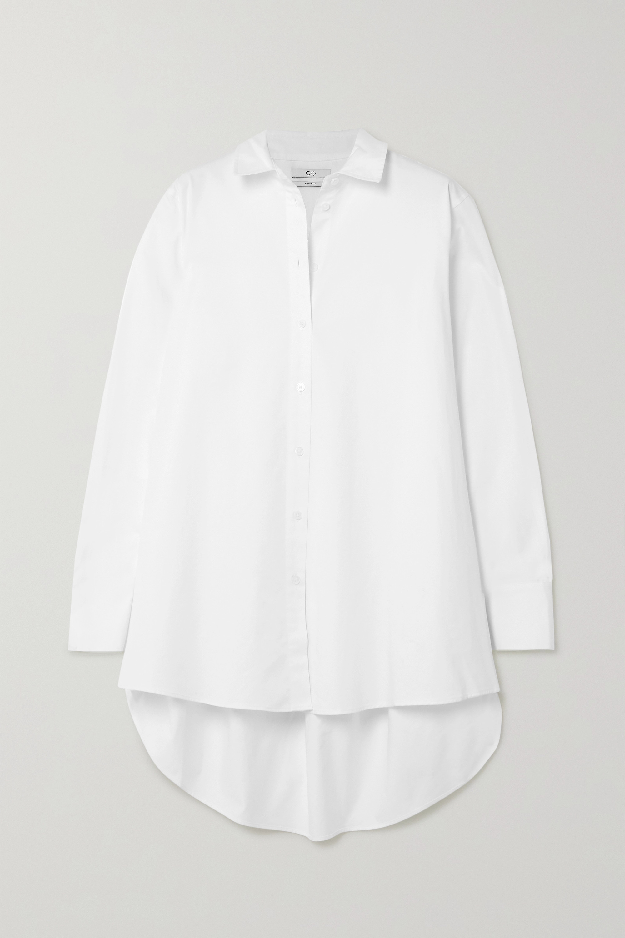Co Cotton-poplin shirt