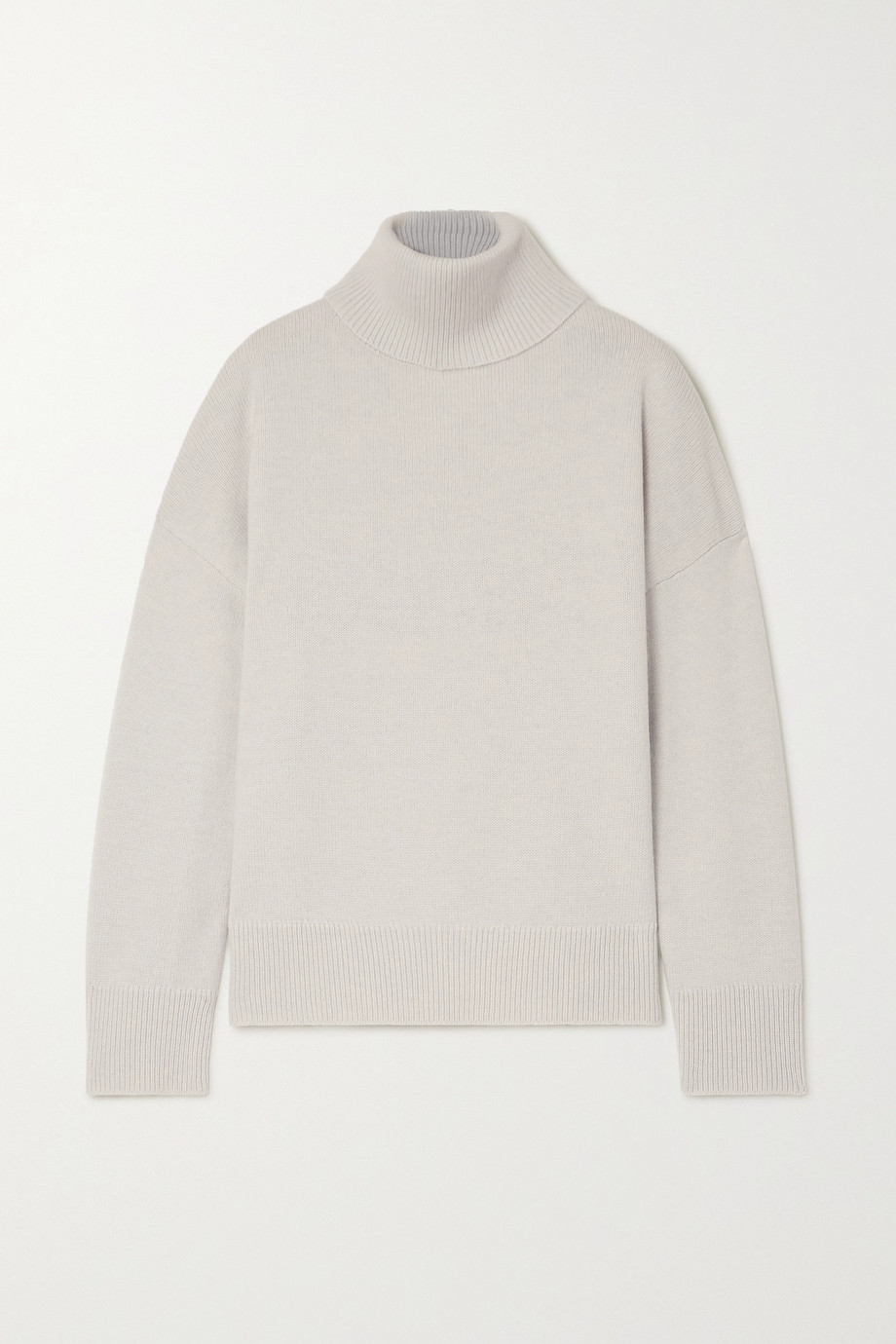 Co Wool and cashmere-blend turtleneck sweater