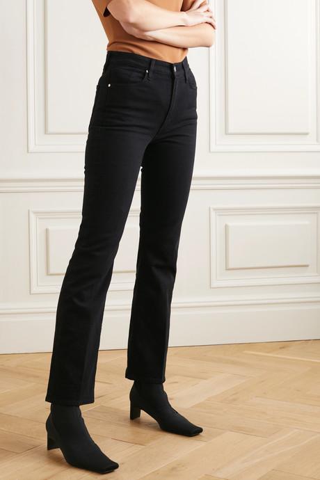 + NET SUSTAIN The High Rise slim-leg jeans