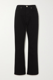 GOLDSIGN + NET SUSTAIN The High Rise slim-leg jeans