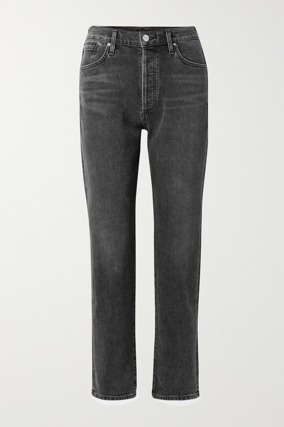GOLDSIGN + NET SUSTAIN The Benefit high-rise straight-leg jeans