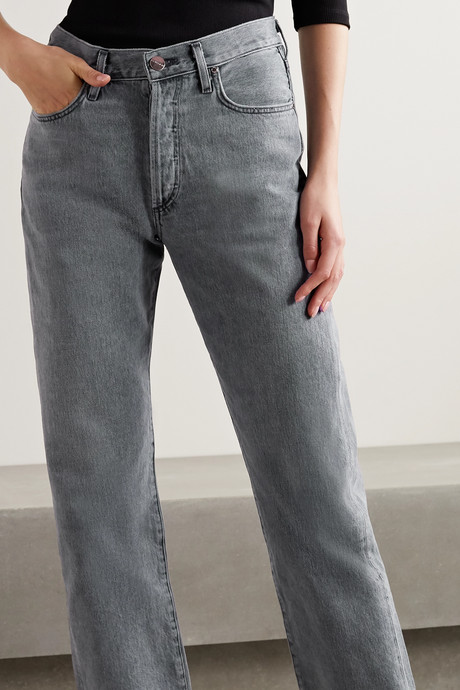 + NET SUSTAIN The Relaxed Straight mid-rise straight-leg jeans