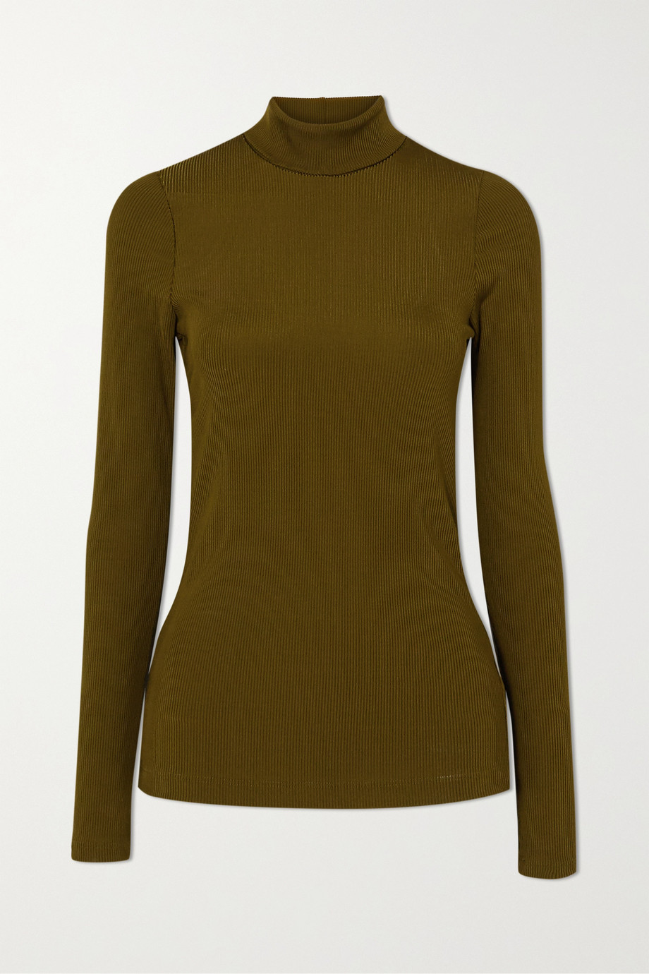 GOLDSIGN + NET SUSTAIN The Rib knitted turtleneck top