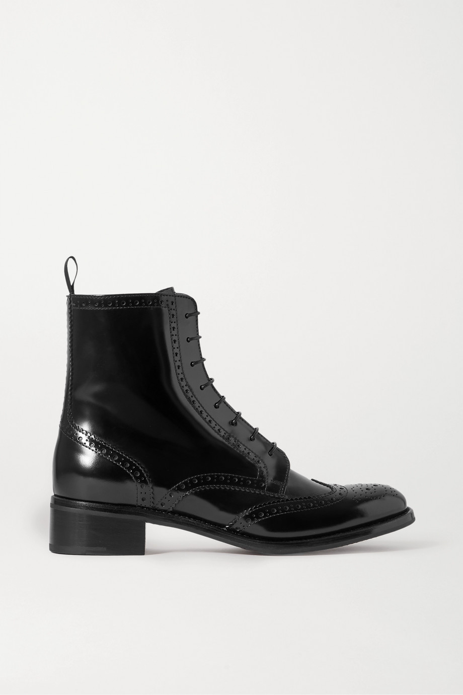 Church's Sylvie glossed-leather ankle boots