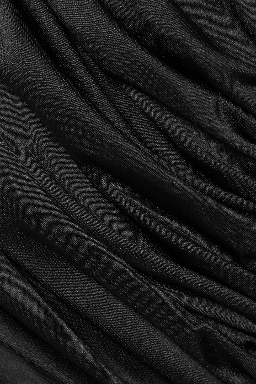 Orseund Iris Romantique ruched satin skirt