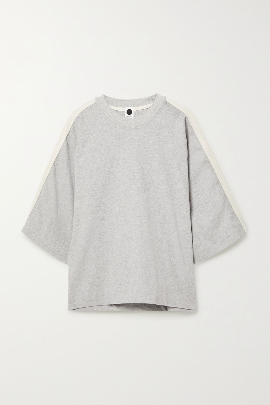 Bassike + NET SUSTAIN organic cotton-jersey top
