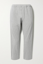 Bassike + NET SUSTAIN organic cotton-jersey track pants