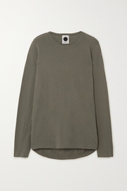 Bassike Organic cotton-jersey top
