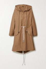 Bassike Hooded cotton-gabardine jacket