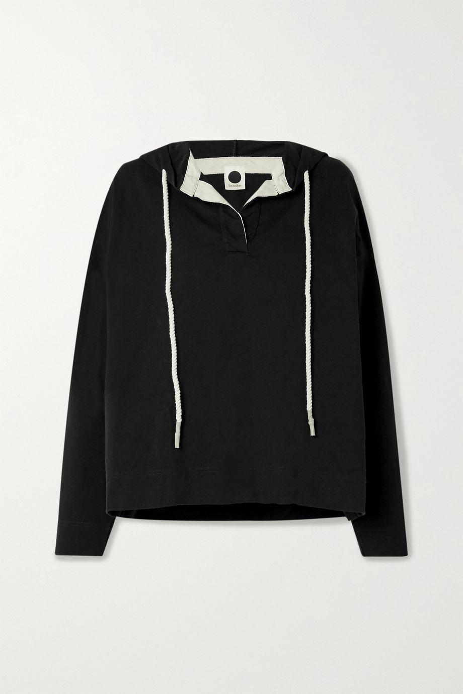 Bassike + NET SUSTAIN organic cotton-jersey hoodie