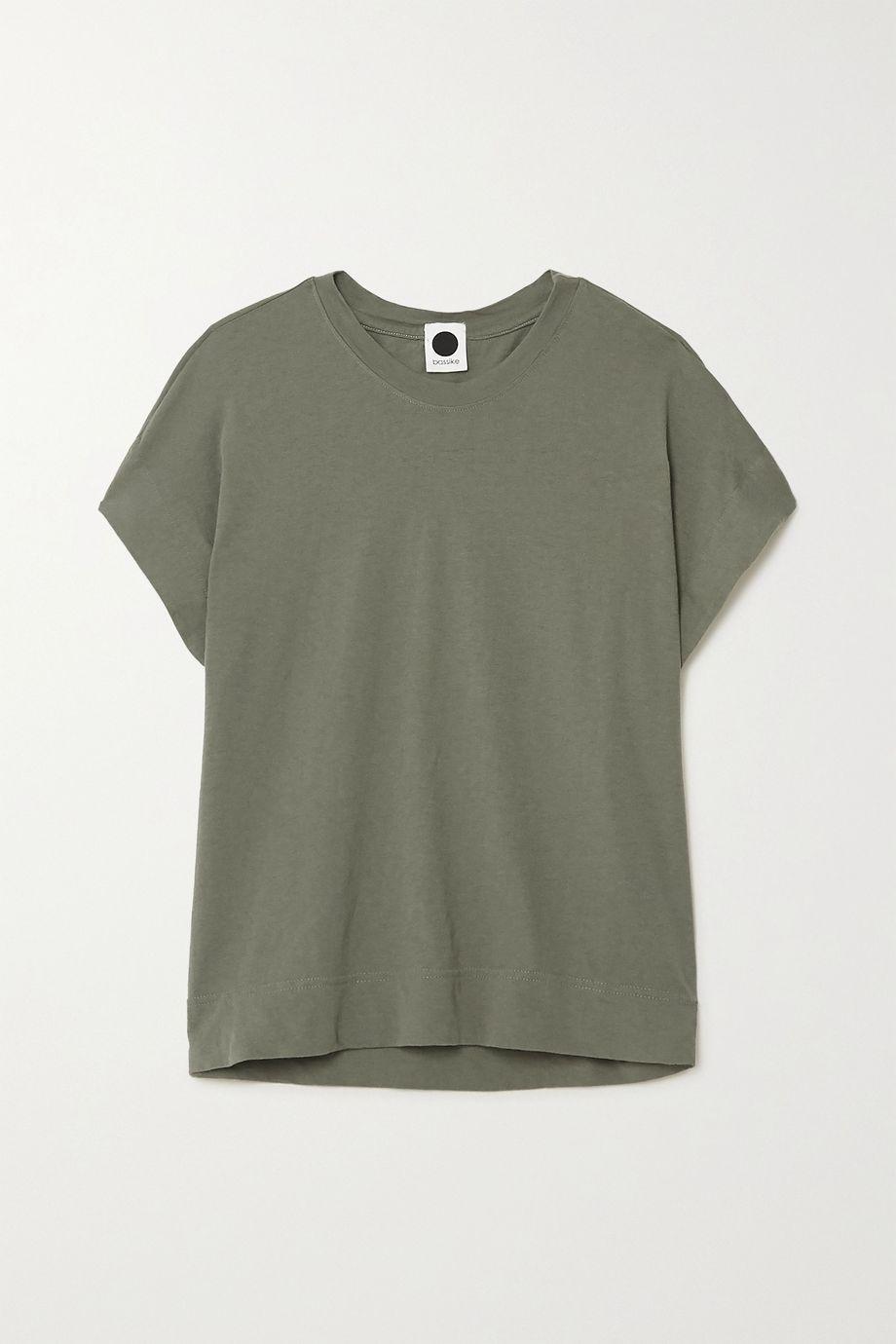 Bassike + NET SUSTAIN organic cotton-jersey T-shirt