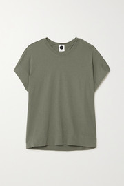 Bassike + NET SUSTAIN organic cotton-jersey T-shirt