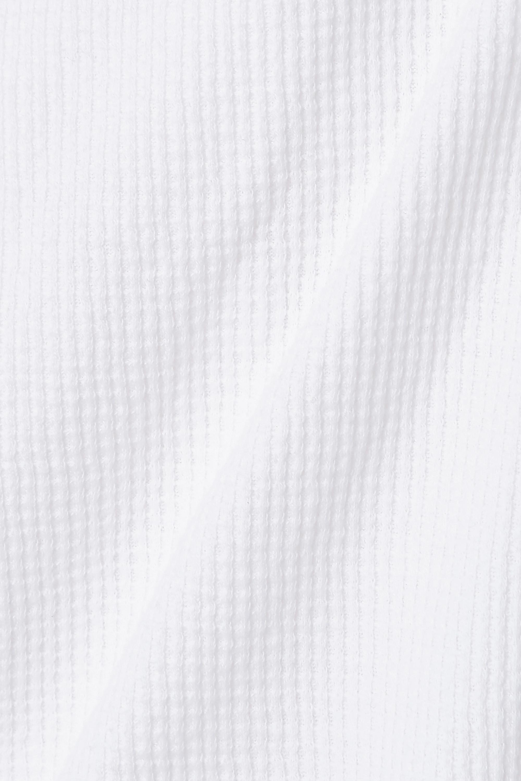Bassike Haut en coton à mailles gaufrées