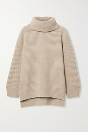 Anine Bing Olivia ribbed cashmere and wool-blend sweater