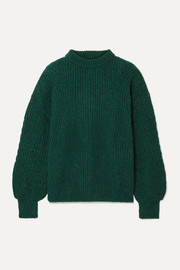 Anine Bing Jolie ribbed-knit sweater
