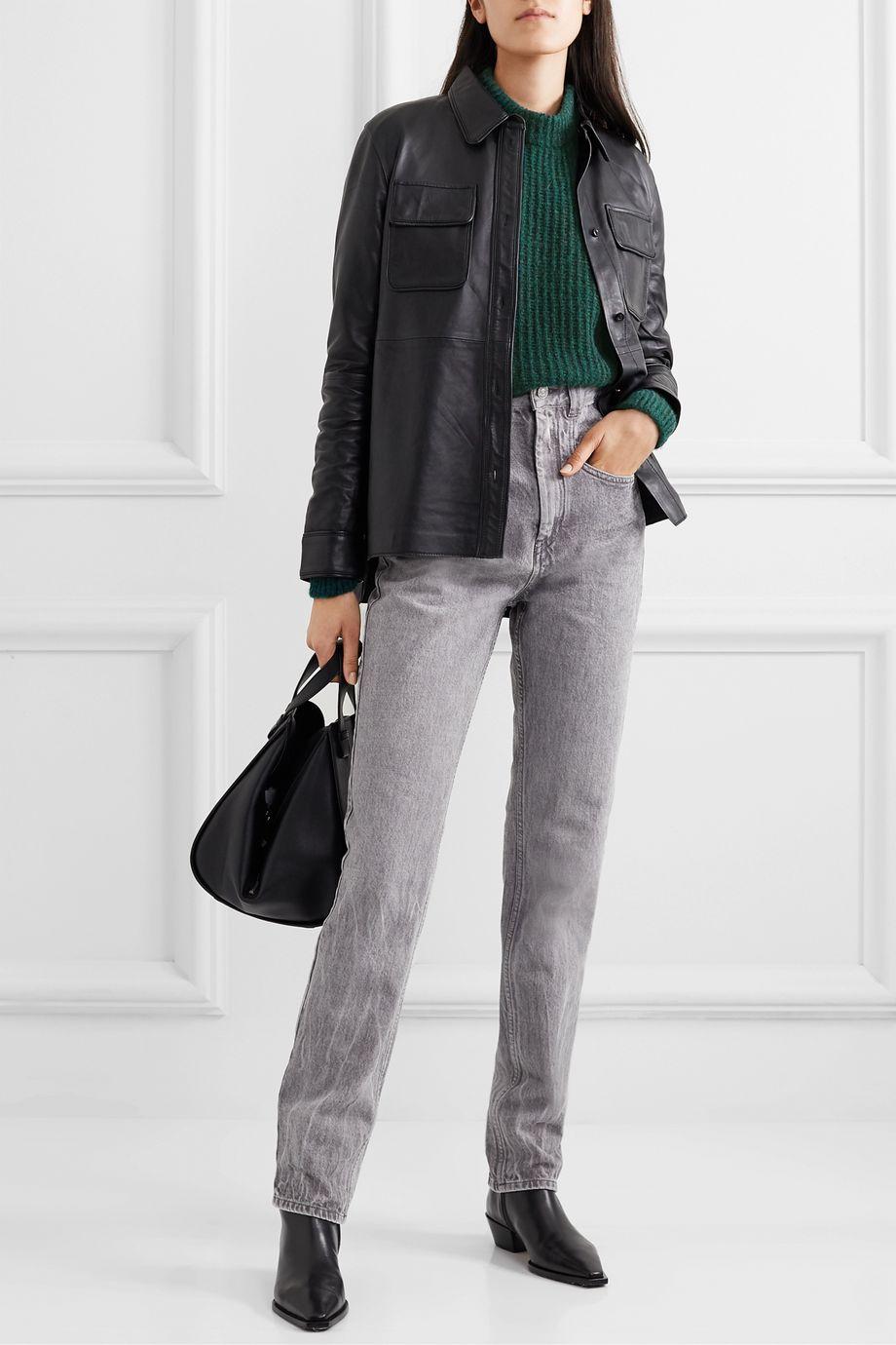 Anine Bing Jolie Pullover aus Rippstrick