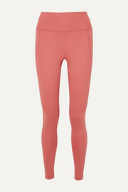 Compressive stretch leggings