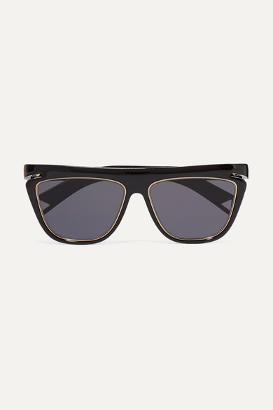 d-frame-acetate-and-gold-tone-sunglasses by fendi