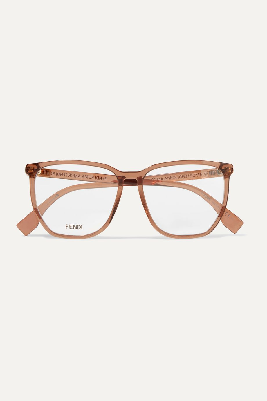 Fendi D-frame acetate optical glasses