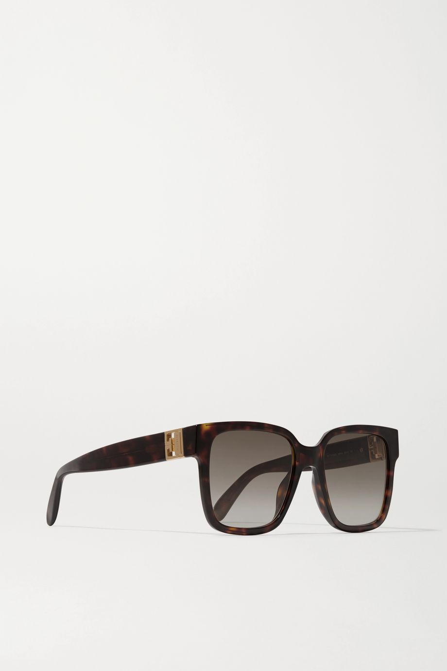 Givenchy Oversized square-frame tortoiseshell acetate sunglasses