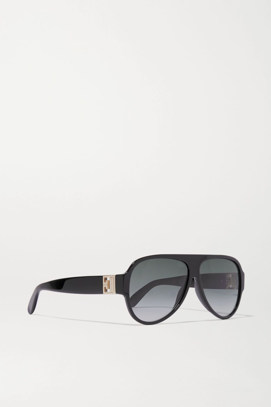 Givenchy Oversized aviator-style acetate sunglasses