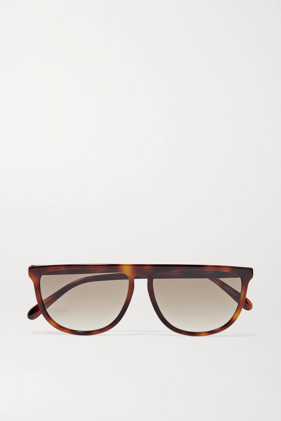 Givenchy D-frame tortoiseshell acetate sunglasses