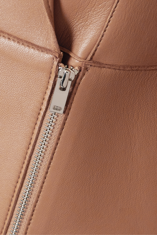 Theory Leather coat