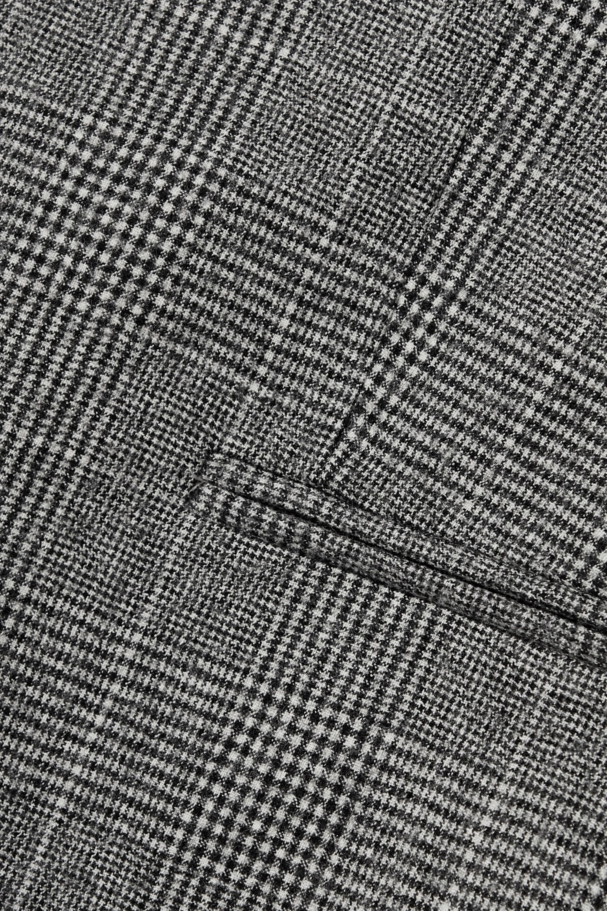 Theory Prince of Wales checked wool-blend blazer