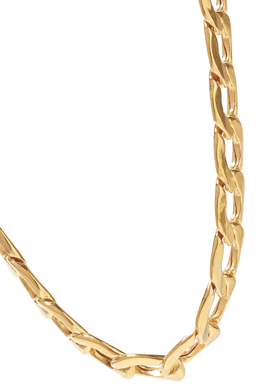 Loren Stewart Havana 14-karat gold necklace