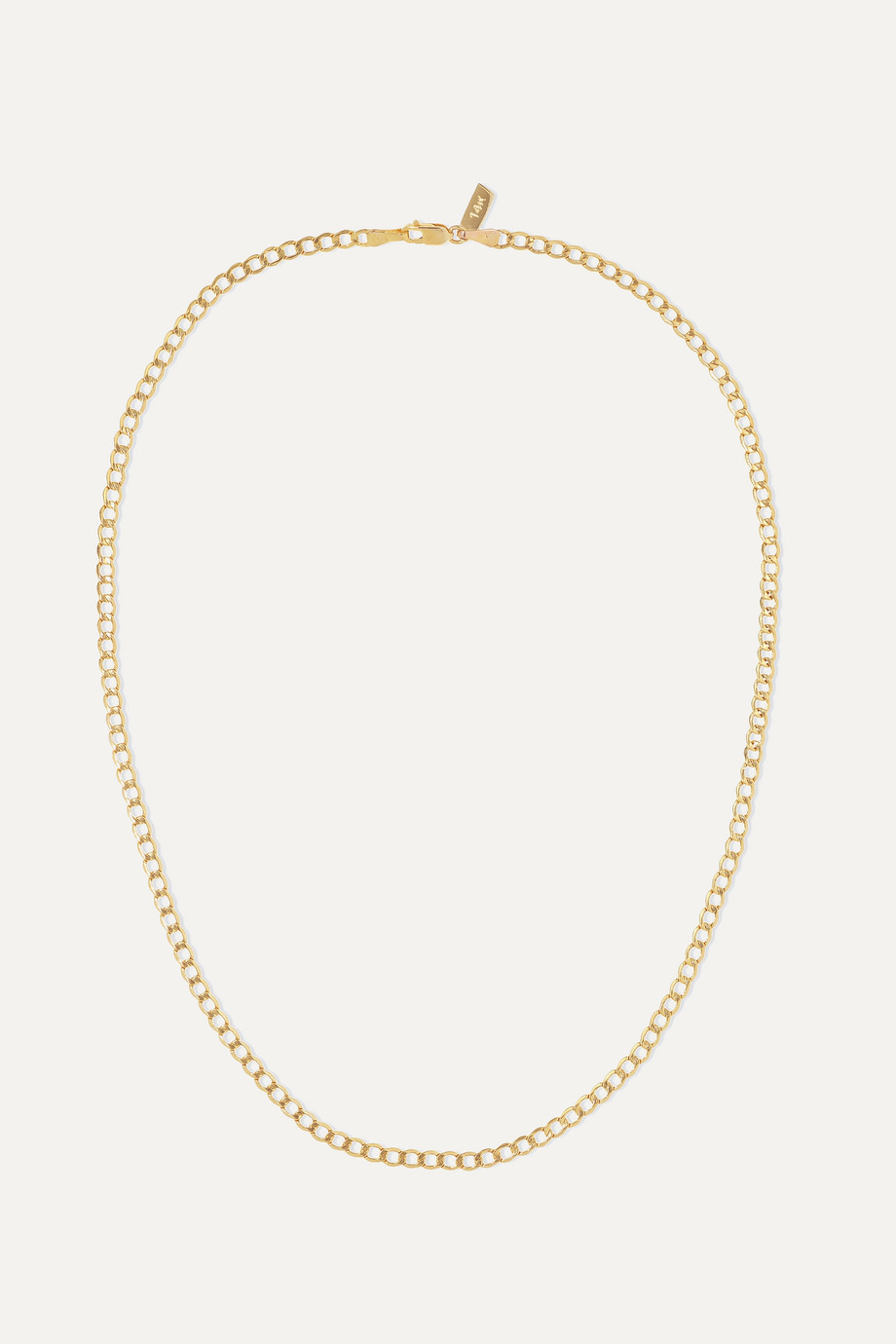 Loren Stewart Havana 14-karat gold necklace