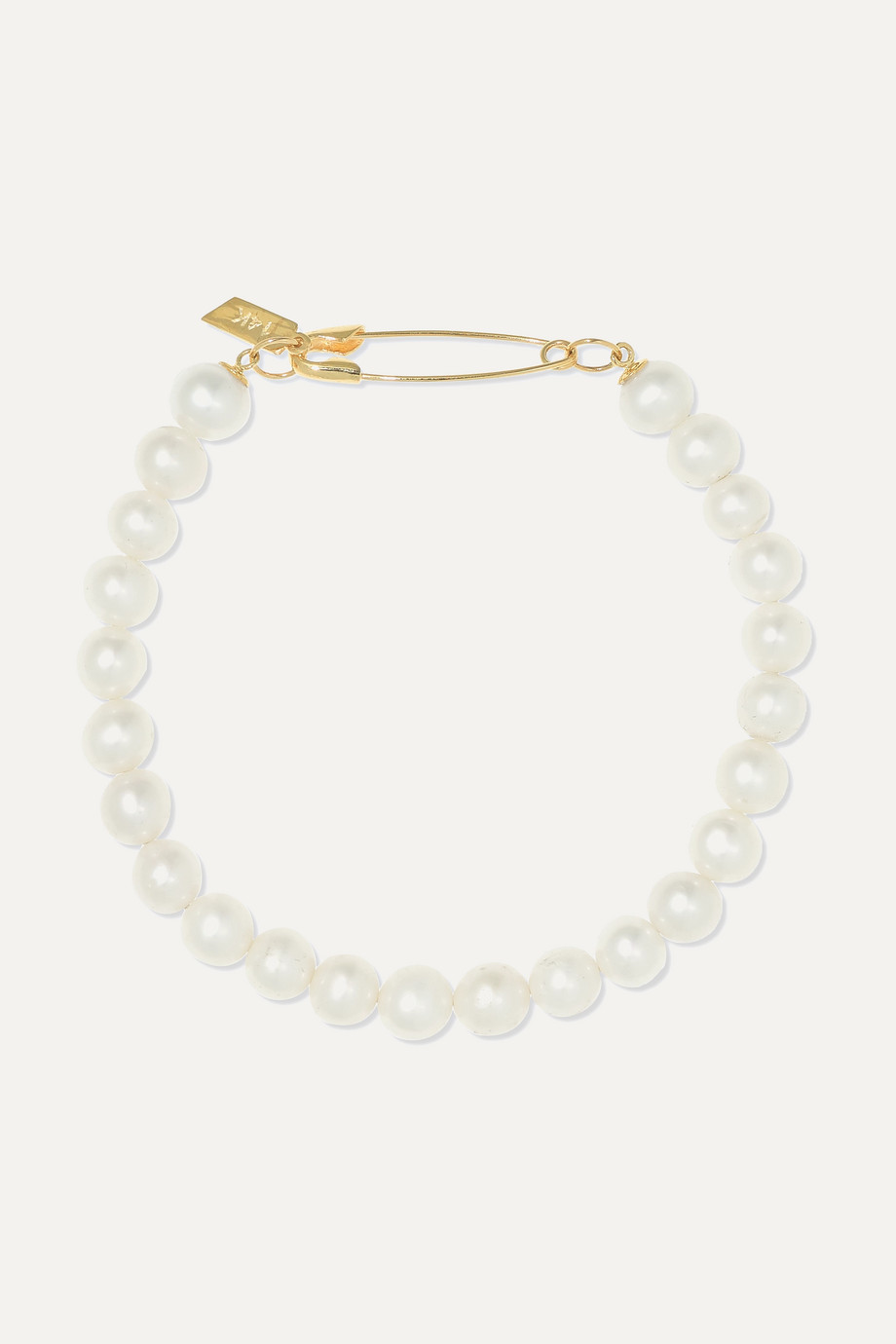 Loren Stewart Bracelet en or 14 carats et perles