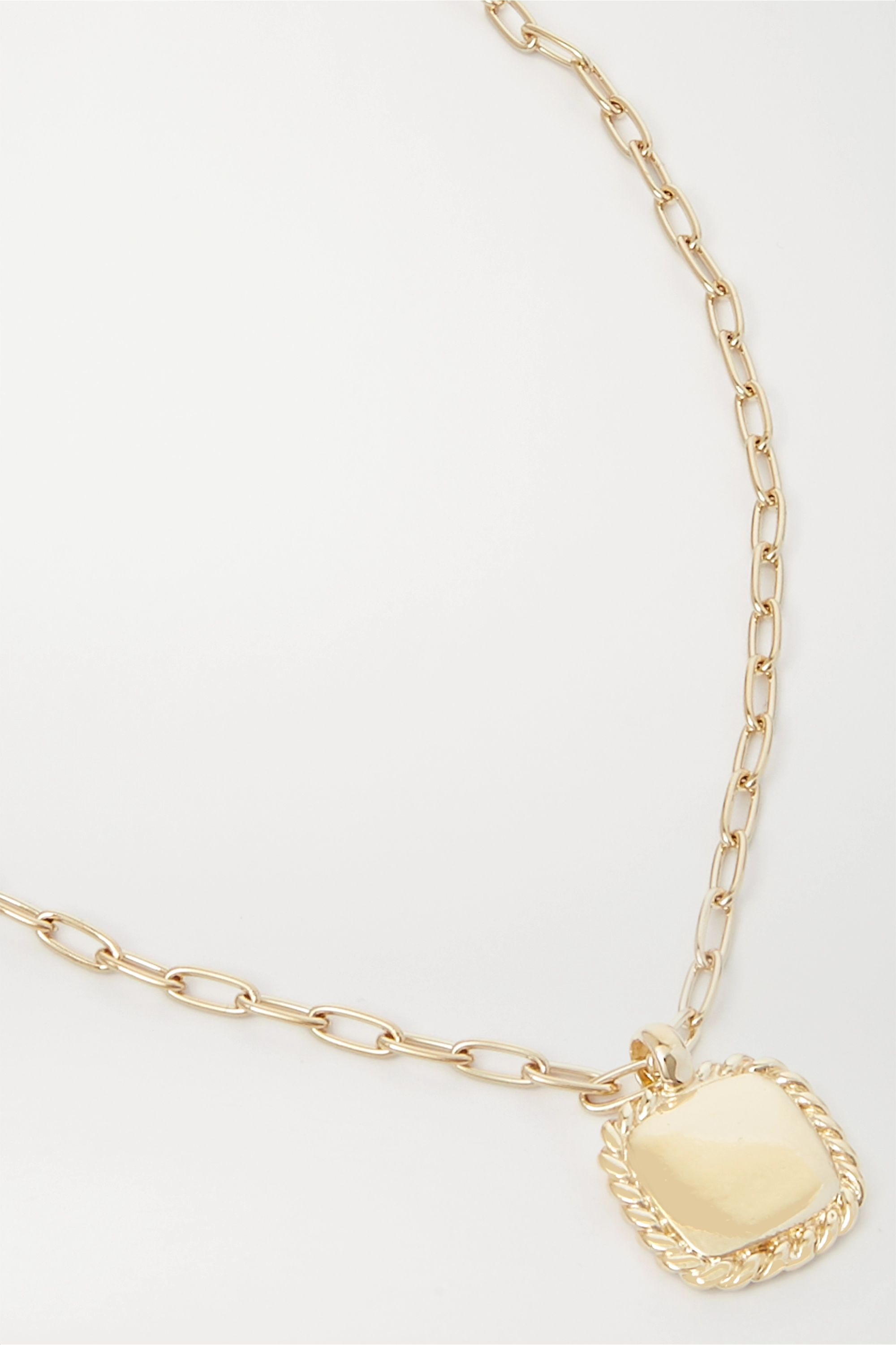 Laura Lombardi + NET SUSTAIN Stella gold-plated necklace
