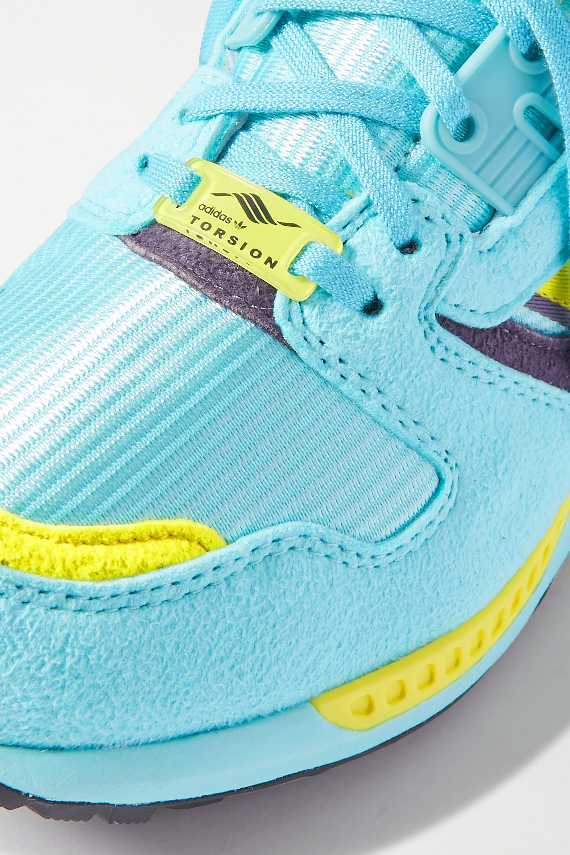 adidas Originals ZX 8000 人造绒面革网眼运动鞋