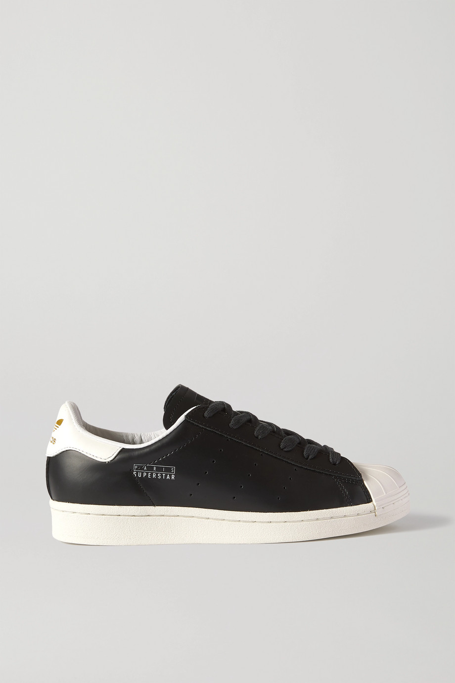 adidas Originals Paris Superstar leather sneakers
