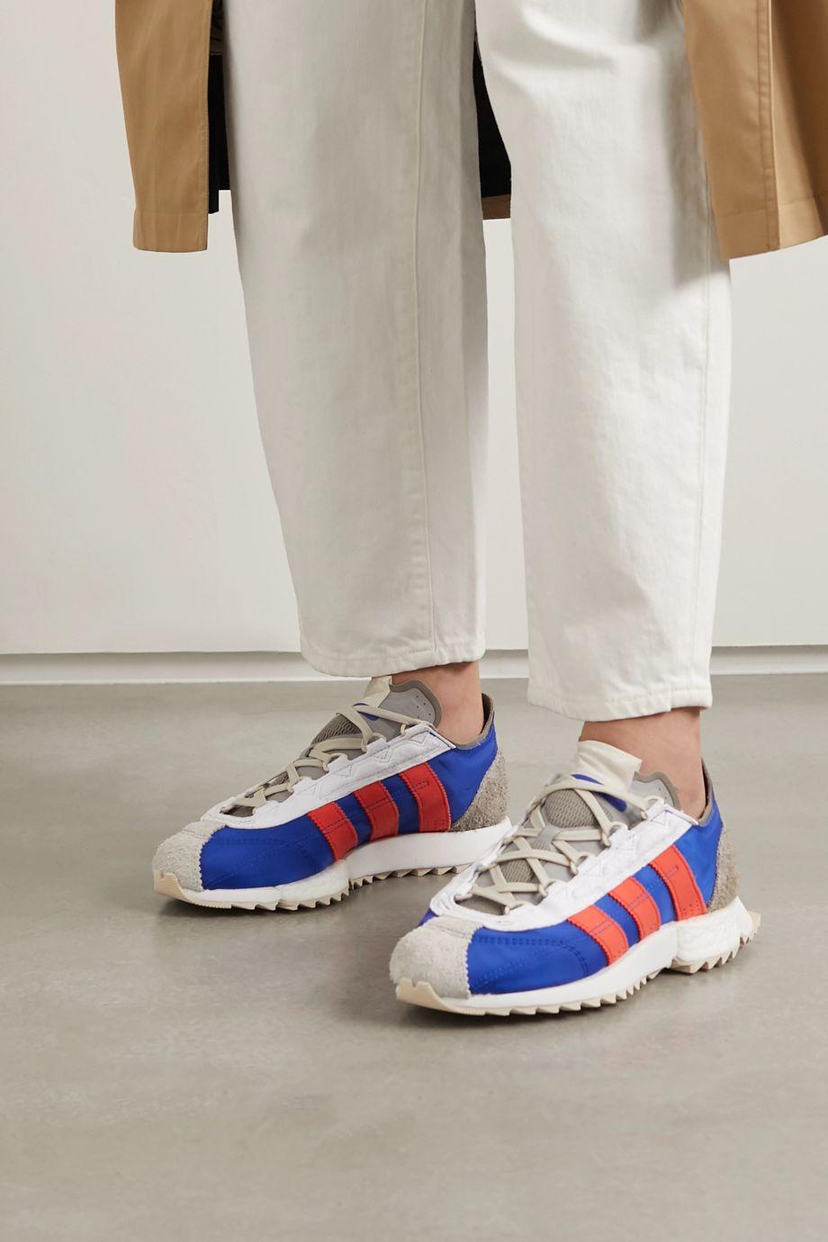 adidas Originals SL 7600 Sneakers aus Shell, Veoursleder und Mesh mit Lederbesätzen