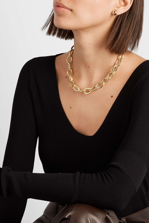 Ippolita Classico Bastille 18-karat gold necklace