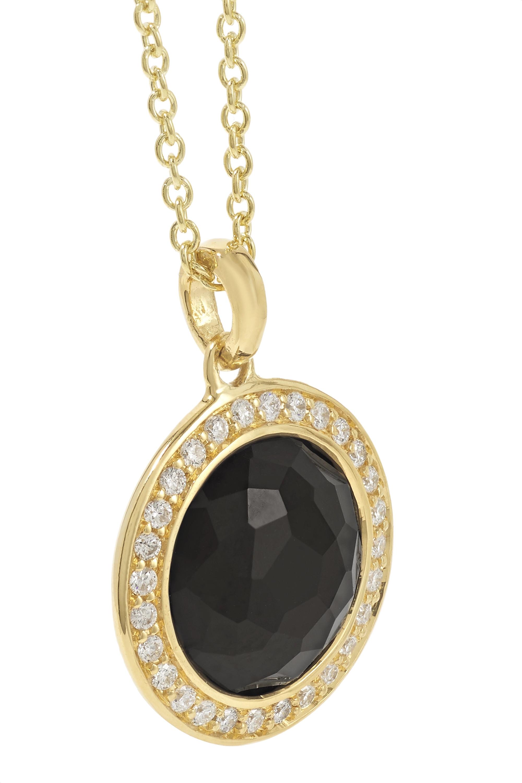 Ippolita Lollipop® Kette aus 18 Karat Gold mit Onyx und Diamanten