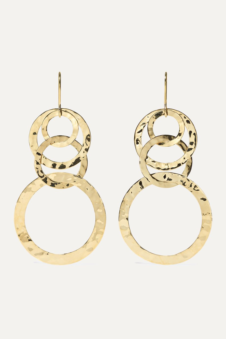 Ippolita Classico 18-karat gold earrings