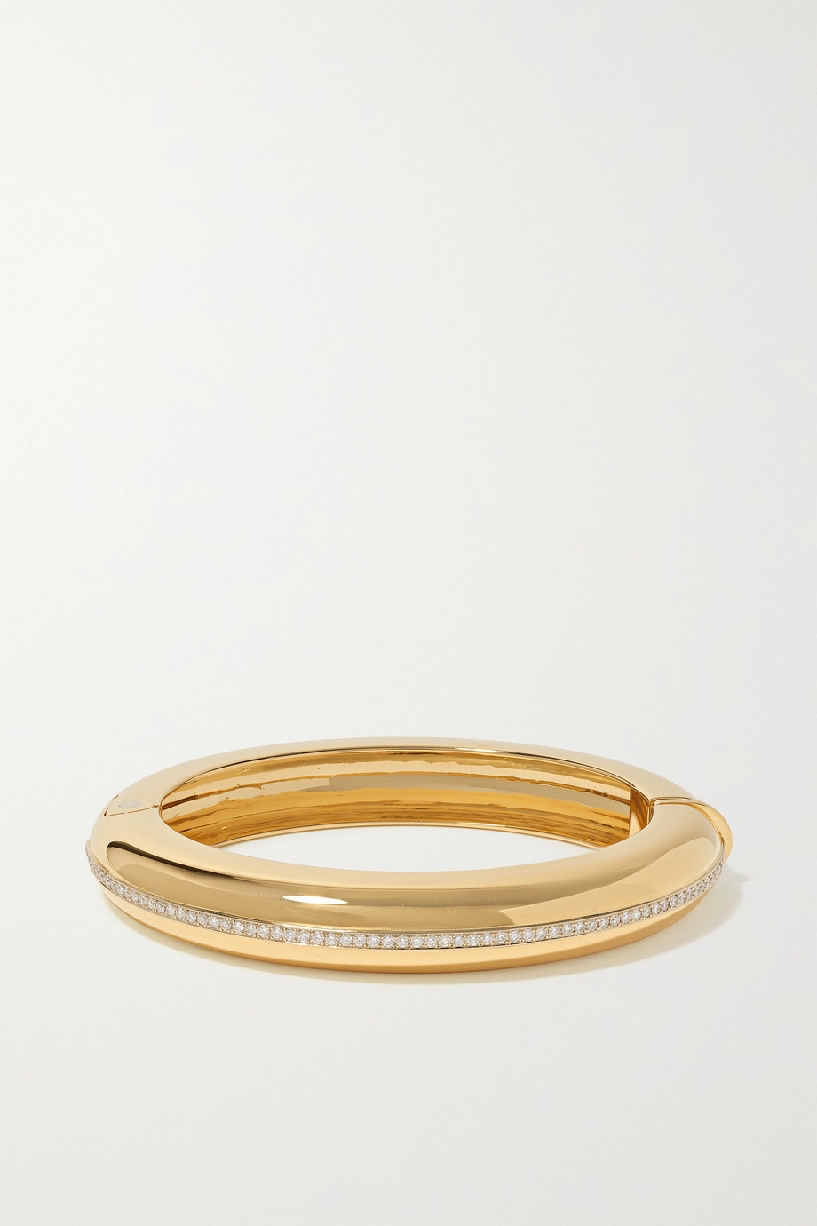Fred Leighton Collection 18-karat gold diamond bangle