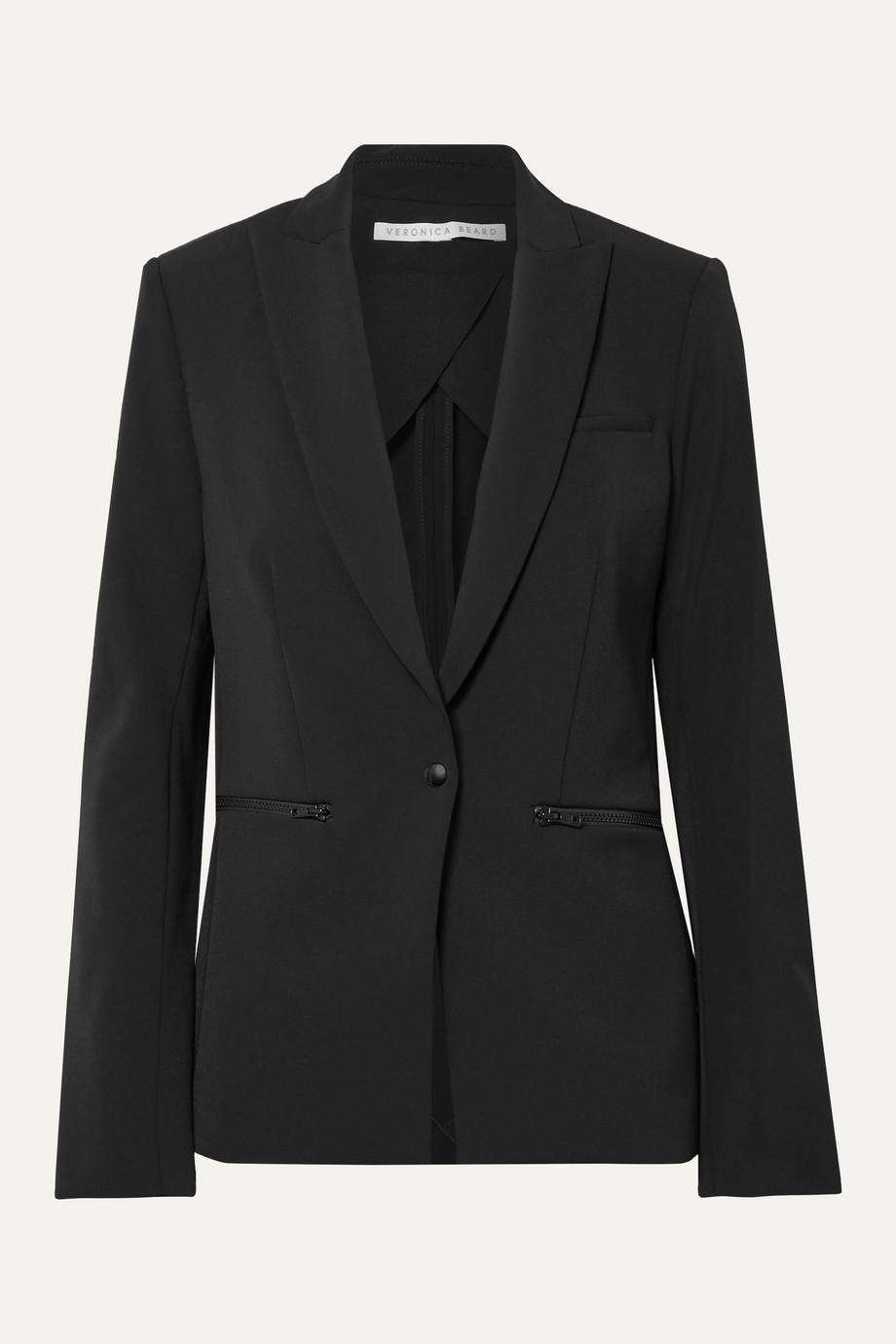 Veronica Beard 弹力绉纱西装外套