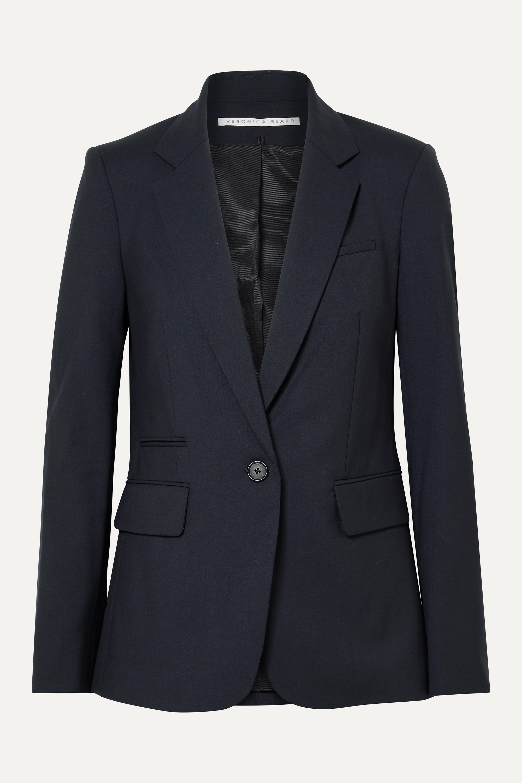 Veronica Beard Classic stretch-wool crepe blazer
