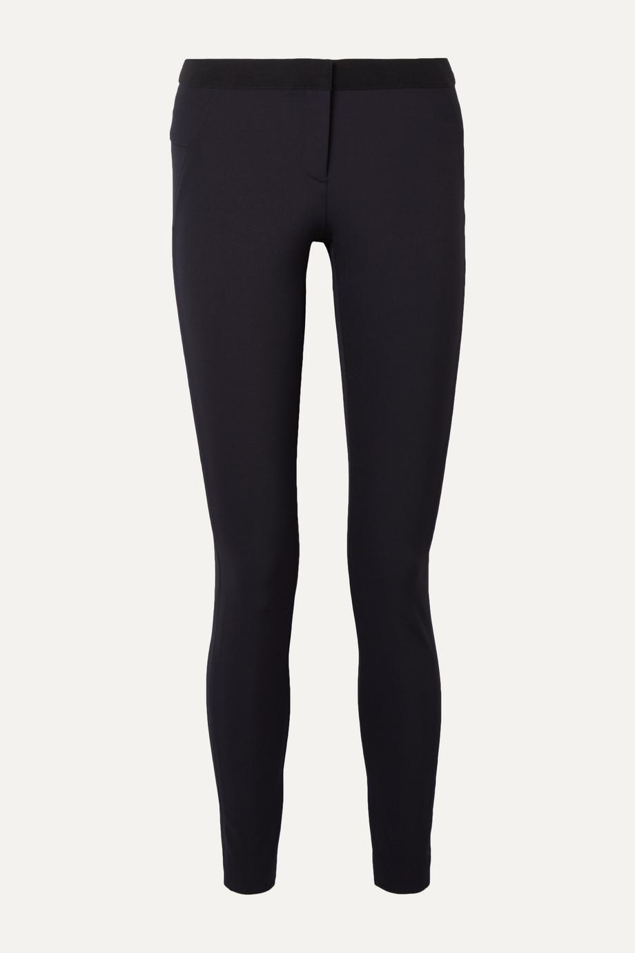 Veronica Beard Stretch-crepe slim-leg pants