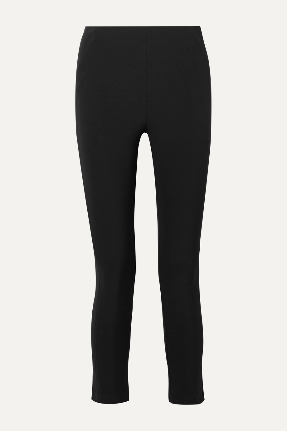 Veronica Beard Cropped stretch-crepe skinny pants