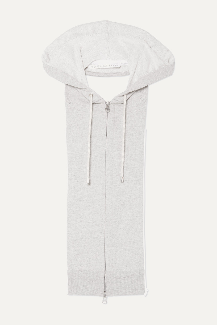 Veronica Beard Hooded cotton-blend dickey