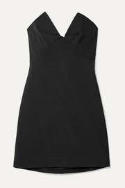 Cushnie Stretch-cady mini dress