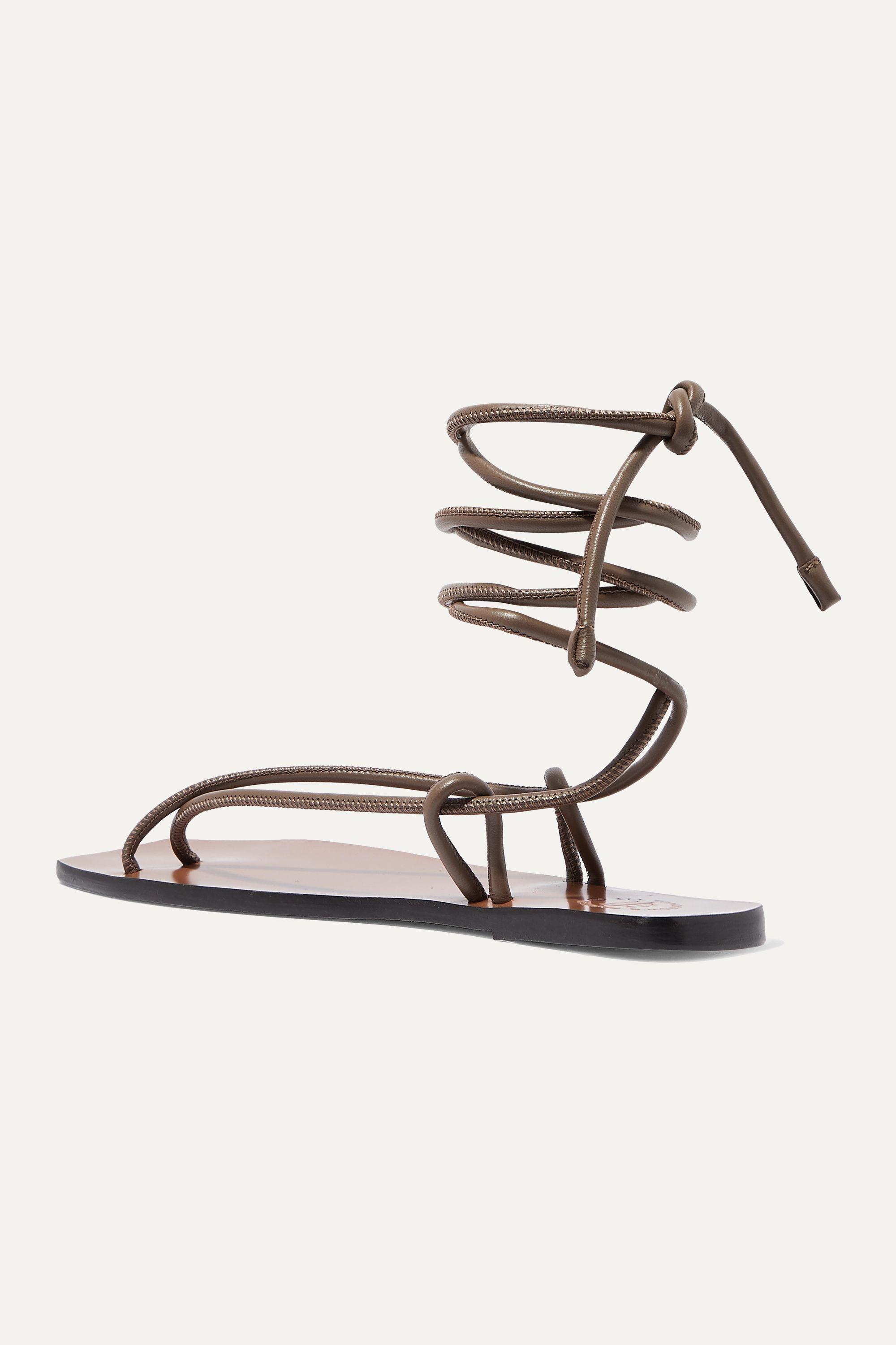 ATP Atelier Alezio leather sandals